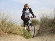 Excursion à vélo sur la plage