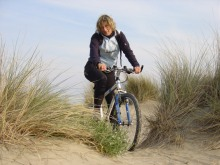 Excursion à vélo sur la plage